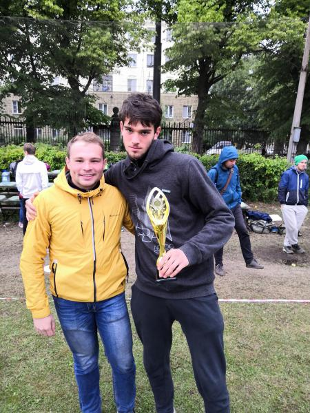 Кирилл Остапенко на турнире Кубок СПб 2018