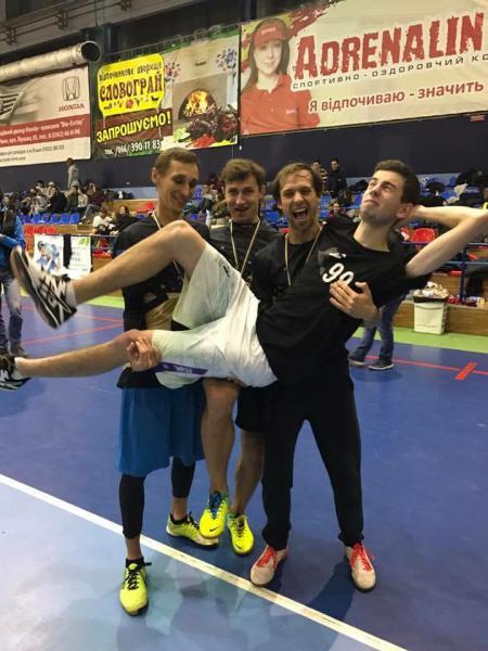 Сергей Севцов на турнире Lubart Ultimate Cup 2016