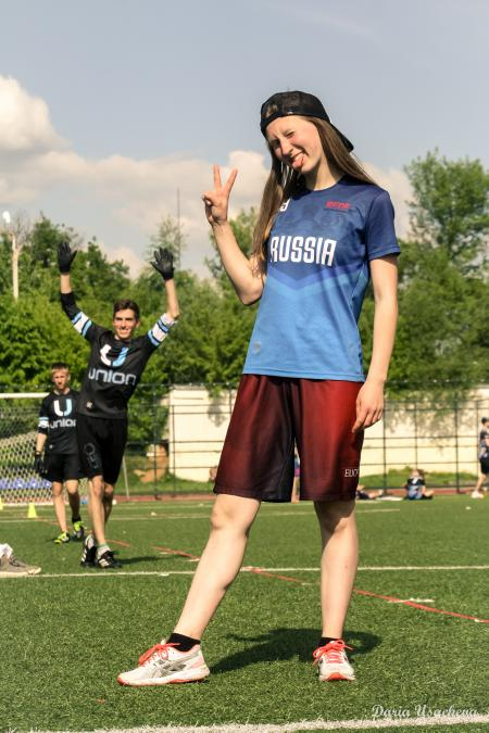 Анна Серебрякова на турнире 1 Этап МЛР 2018