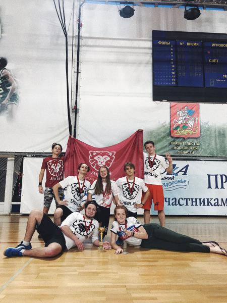 Анна Серебрякова на турнире I этап первенства России по алтимату 2018/2019