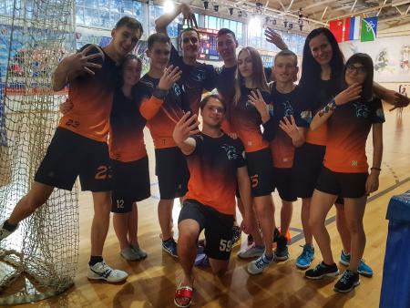 Александра Красношеева на турнире Миксомания 2018