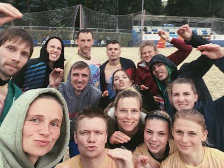 Екатерина Татаринова на турнире ОЧМ 2020