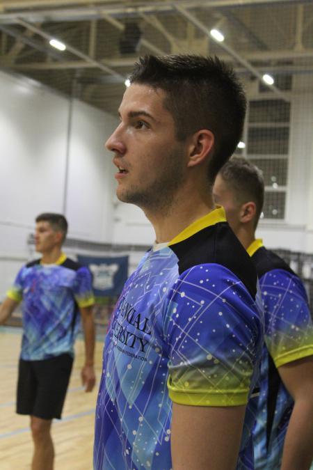 Кирилл Михайлянц на турнире ЧВО в зале