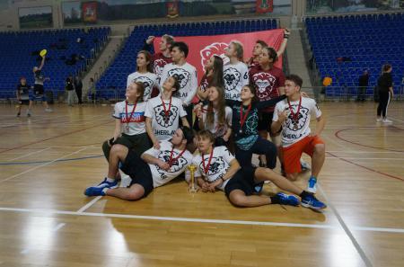 Kristina Togobetskaia на турнире I этап первенства России по алтимату 2018/2019