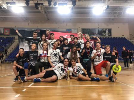 Денис Леонов на турнире I этап первенства России по алтимату 2018/2019