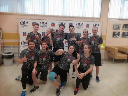 Денис Леонов на турнире Миксомания 2019