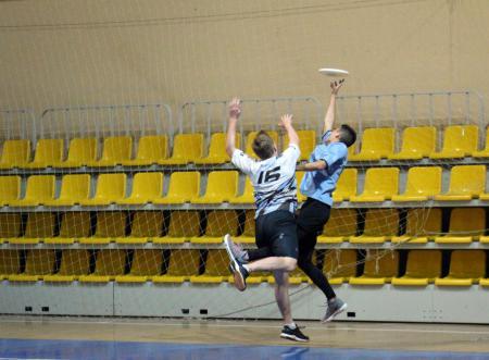 Георгий Курбетьев на турнире ЧВО18 в зале