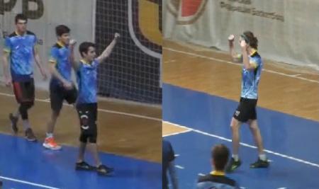 Георгий Курбетьев на турнире ЧВО-21