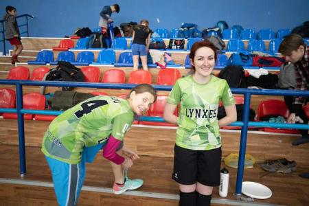 Лиза Виценко на турнире Adrenalin Ultimate Cup 2019