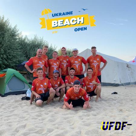 Егор Штанько на турнире Ukraine Beach Open 2021