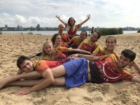 Александра Левен на турнире МПЧР 2019