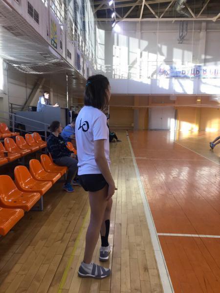 Александра Левен на турнире ЗаПуск 2019