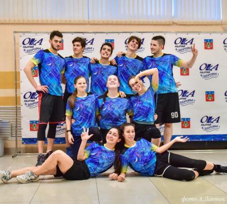 Александра Левен на турнире Миксомания 2019