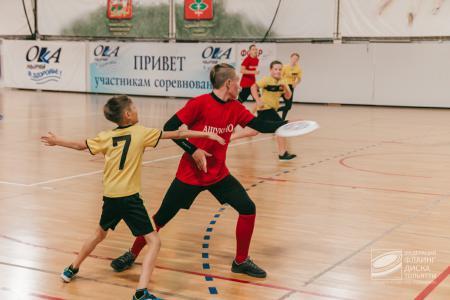 Ринат Тагаев на турнире I Этап Первенства среди юношеских команд