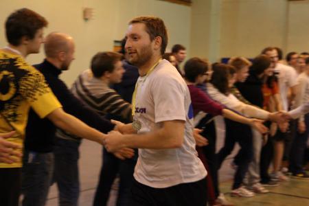 Александр Фомин на турнире Рождественский турнир 2014