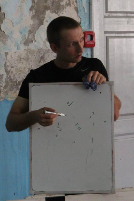 Александр Фомин на турнире КНО 2013