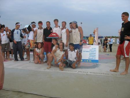 Юрий Ровда на турнире Burla Beach Cup 2006