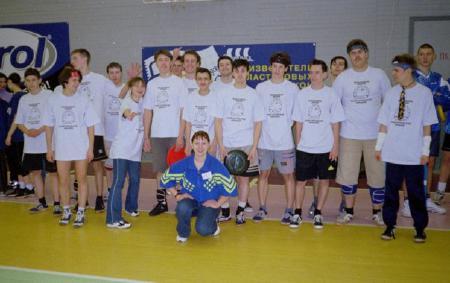 Юрий Ровда на турнире Лорд Новгород 2003