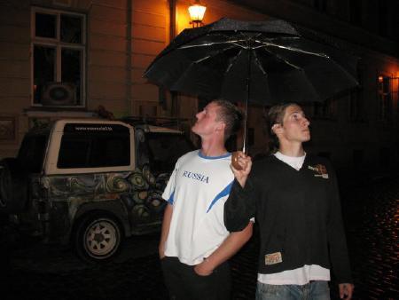 Юрий Ровда на турнире EUCS NE 2009