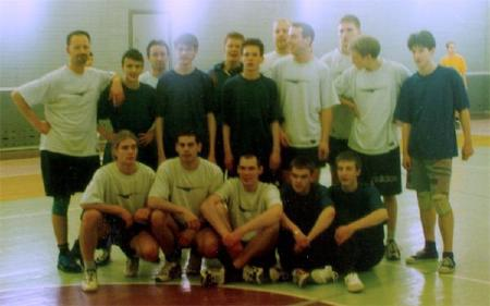 Юрий Ровда на турнире Лорд Новгород 2001