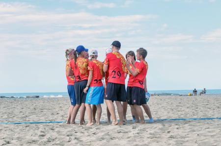Юлия Акрамова на турнире Burla Beach Cup 2015