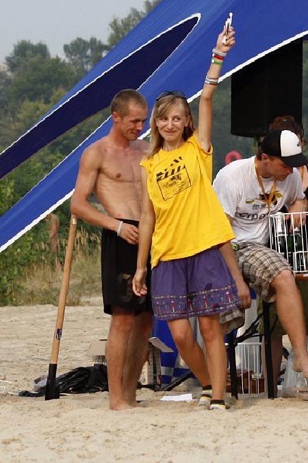 Юлия Акрамова на турнире Kiev Hat 2010
