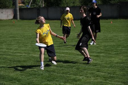 Юлия Акрамова на турнире Брест без границ 2010