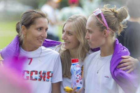 Юлия Акрамова на турнире СЗЛ-2013