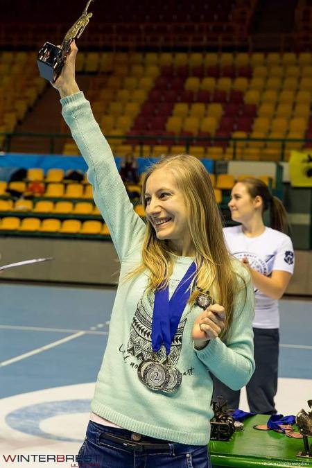 Юлия Акрамова на турнире Winter Brest 2017