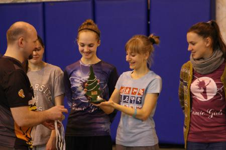 Юлия Акрамова на турнире Рождественский турнир 2014