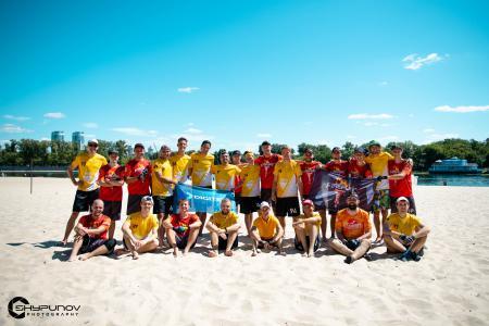 Илья Шипунов на турнире Kyiv Beach Hat 2020