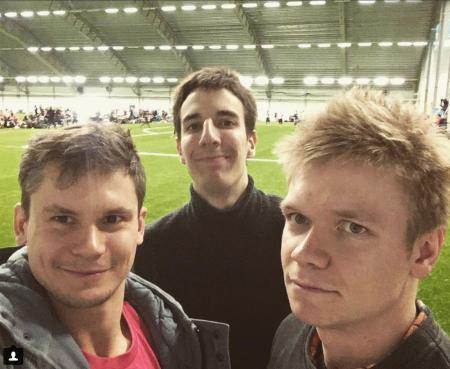 Александр Калугин на турнире Hello Stockholm 2017
