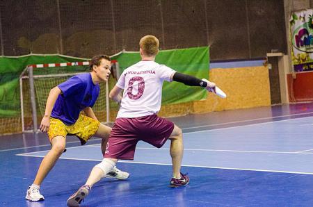 Илья Миронюк на турнире Lubart Ultimate Cup 2015