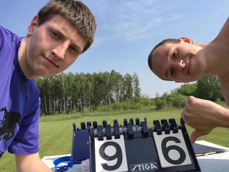 Илья Миронюк на турнире ББГ 2016