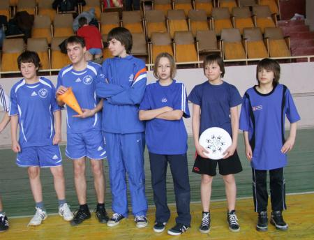 Илья Миронюк на турнире Первый школьный турнир по алтимат фризби