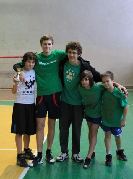 Илья Миронюк на турнире Школьный кубок по алтимату 2012