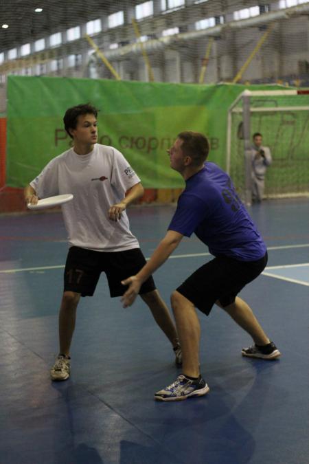 Илья Миронюк на турнире Lubart Ultimate Cup 2013