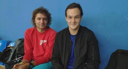 Илья Миронюк на турнире Lubart Ultimate Cup 2018