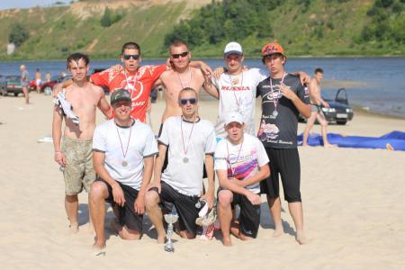 Дмитрий Мишин на турнире Самый Песок 2014