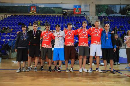 Дмитрий Мишин на турнире Запуск 2012