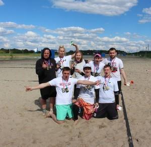 Команда На-найцы натурнире Spring Beach Hat 2015 (Микс дивизион, 2/8)
