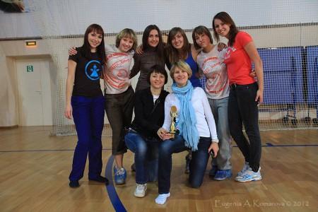 Команда Лас Чикас натурнире Запуск 2012 (Women, 5/18)