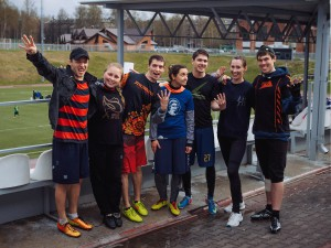 Команда Big Bang натурнире Yaroslavl Hat' Spring 2015 (Микс дивизион, 4/10)