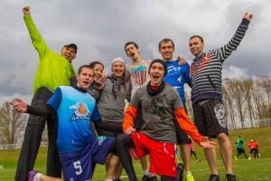 Команда Сигурни Уивер натурнире Yaroslavl Hat' Spring 2015 (Микс дивизион, 3/10)