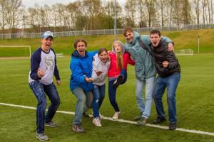 Команда Скайуокер натурнире Yaroslavl Hat' Spring 2015 (Микс дивизион, 5/10)