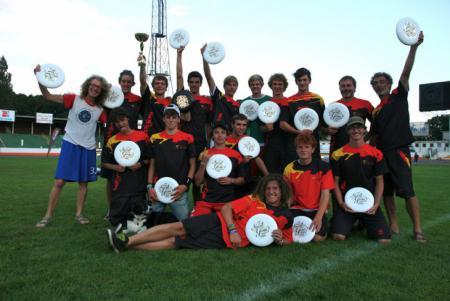 Команда BEL натурнире EYUC 2011 (Under 20 Open, 8/13)