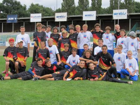 Команда CZE натурнире EYUC 2011 (Under 17 Open, 6/7)