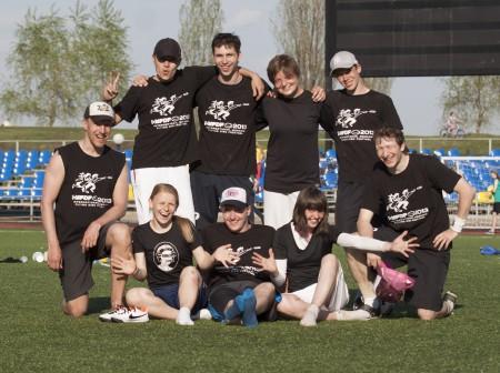 Команда Команда Инги Ивакиной натурнире МФЛД 2013 (1 дивизион, 9/12)