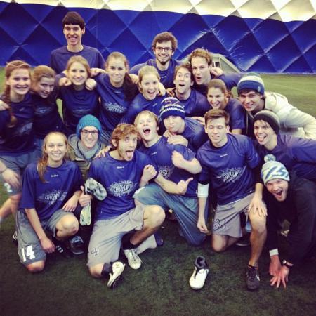 Команда Catchup натурнире BubblePest 2014 (Микс дивизион, 1/8)