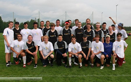 Команда Novgorod Bears натурнире EUCS NE 2007 (ОД, 10/13)
